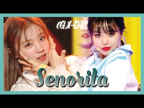 [HOT] (G)I-DLE  –  Senorita ,(여자)아이들 – Senorita Show Music core 20190309