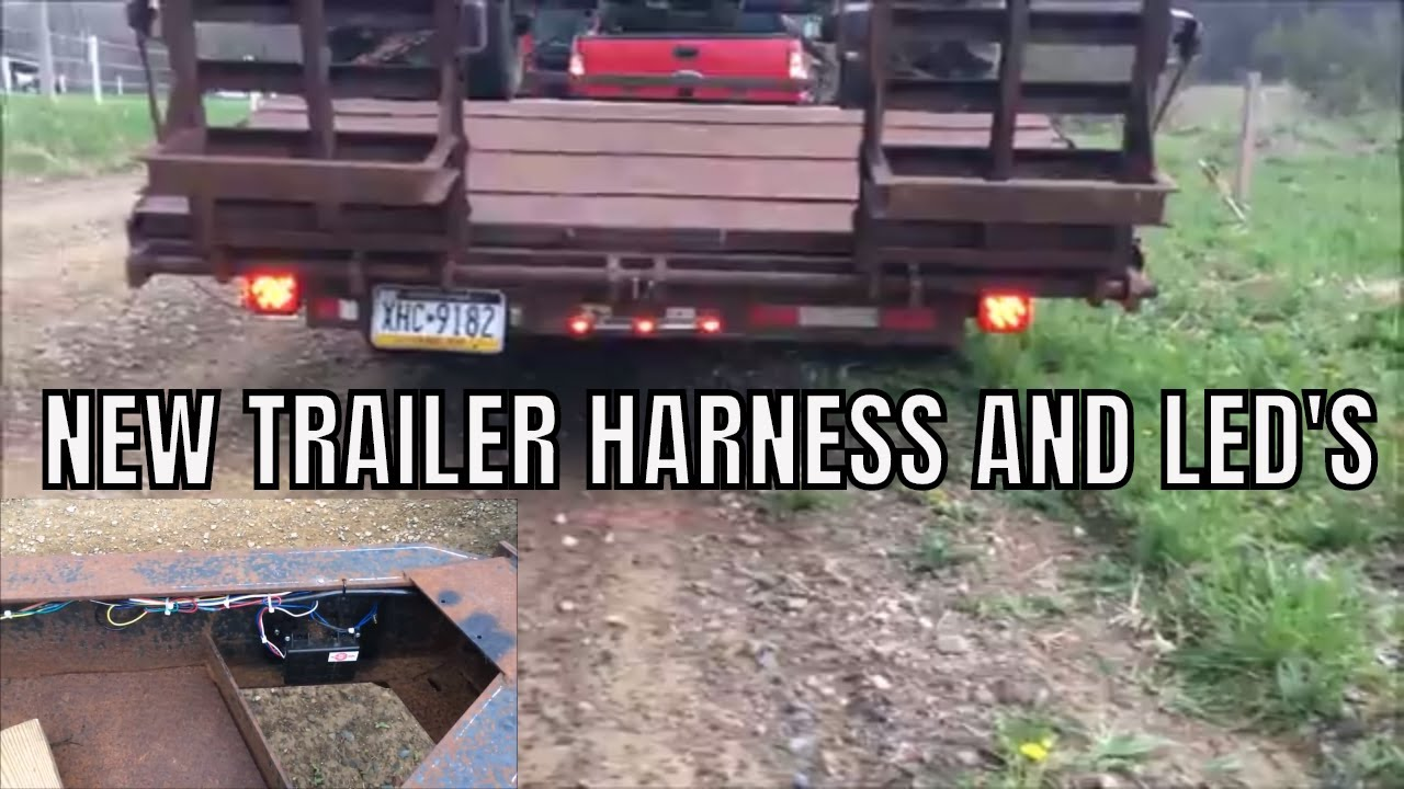 New Led Trailer Lights Wiring Youtube 7 Wire Harness Trouble