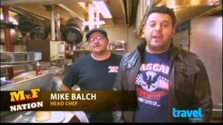 Sticky Lips Pit BBQ on Man Vs. Food Nation with Super Nice Guy Adam Richman