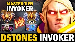 Rank 7 China Dstones MASTER Tier Invoker SHOW YOU How To Win Against Puck Mid | Dota 2 Invoker