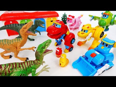 Go Go Dino Season 3~! Angry Dinosaurs Are Coming - ToyMart TV