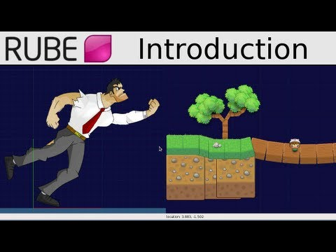 Introduction to R.U.B.E Box2D editor