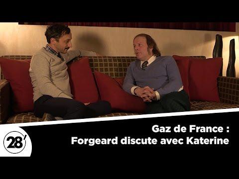 Gaz de France : quand Forgeard dialogue avec Katerine - 28 minutes - ARTE