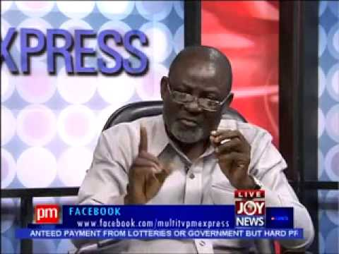 Sale of Merchant Bank - PM Express on Joy News (12-11-13)