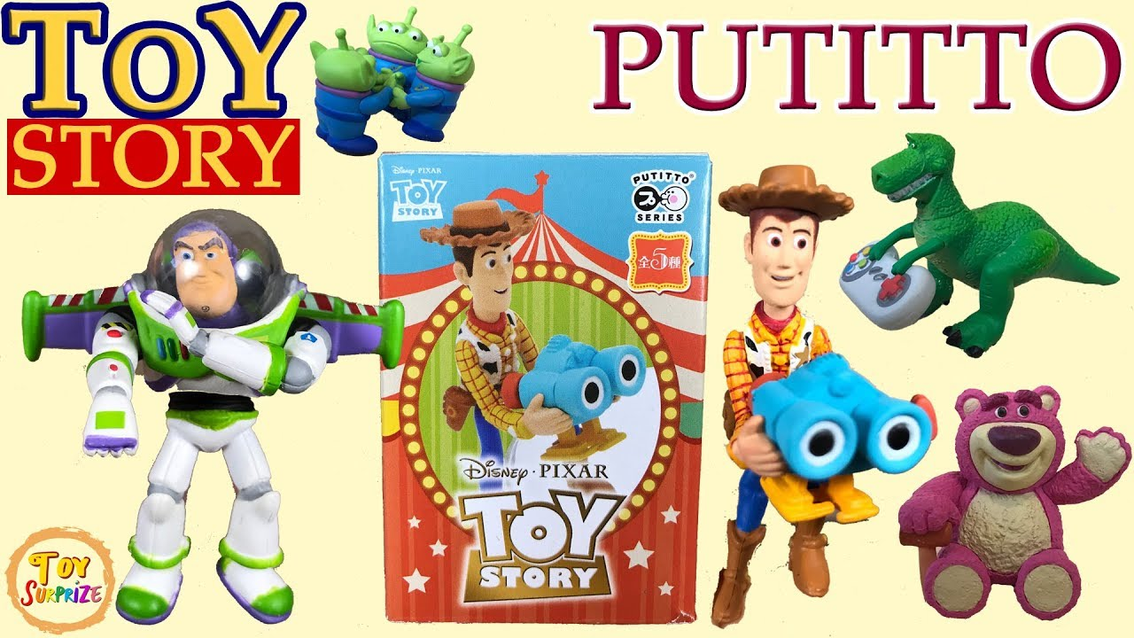 Re-Ment Miniature Disney Pixar Toy Story Toy room RARE rement NOW No.08