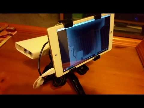 Mobile Handheld Kinect Camera