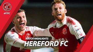 Video Hereford 0-2 Fleetwood Town | Highlights download MP3, 3GP, MP4, WEBM, AVI, FLV Oktober 2018