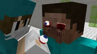 Monster School: Herobrine Eyes Operation! - Minecraft Animation