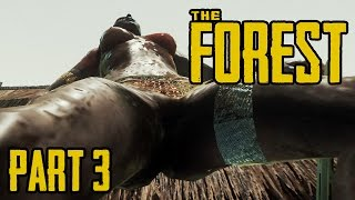 The Forest German Gameplay #03 - Tief rein in die Glibbergrotte