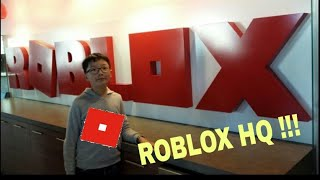 SONO IN ROBLOX HQ IN SAN FRANCISCO !!!