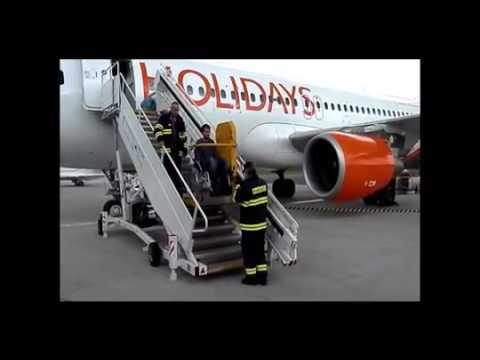 Оборудование для инвалидов, Аэропорт трап.