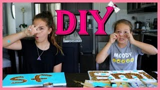 """DIY FILMING ROOM AND ROOM DECOR """"SISTER FOREVER"""""""