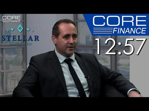 Stellar Diamonds – CEO Karl Smithson