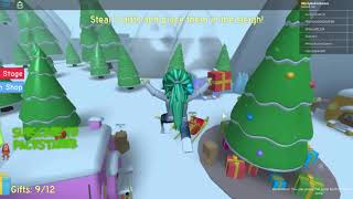 Roblox The Grinch Obby! Stages 1-12 Hholykukingames Playing