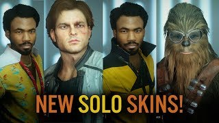 ALL New Skins: Solo Season Part 2 - Star Wars Battlefront 2