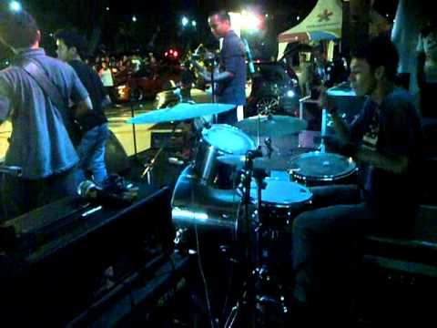 Gugun Blues Shelter-on The Road Again & It's Time To Rule The World Live (drum Cover)