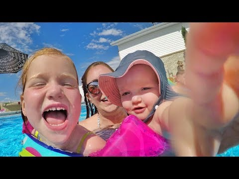 4th Of July Family Routine!! Party At The Park, Face Paint, Swimming Pool,  And Fireworks With Kids!