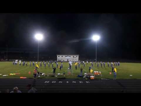 """Mosinee High School Band performing """"Legend of Zelda"""" - 9/16/16"""