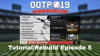 Out of the Park Baseball Tutorial/Rebuild Episode 5 - Our First Call-up!