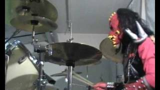 Lordi Drums Cover Blood Red Sandman
