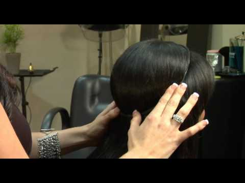 How to fit your halo couture hair extensions youtube pmusecretfo Choice Image