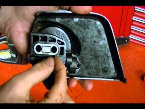 Small engine repair how to replace a chainsaw chain adjust small engine repair how to replace a chainsaw chain adjust tension craftsman model 358350990 greentooth Image collections