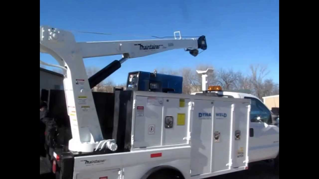 F550 For Sale >> 2006 Ford F550 Super Duty XL service truck for sale   sold at auction February 13, 2014 - YouTube