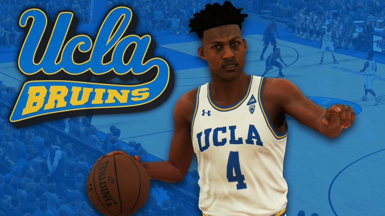 detailed look 61953 87d87 NBA 2K18 2017-18 UCLA Bruins Jersey & Court Tutorial