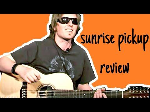 sunrise pickup review soundhole pickup best acoustic guitar pickup comparison youtube. Black Bedroom Furniture Sets. Home Design Ideas