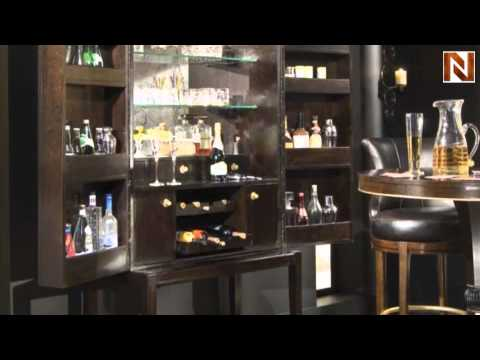 Bar Cabinet American Drew Bob Mackie Home Signature Collection 591 589