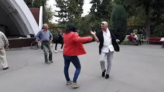 За четыре моря!!!Народные танцы,парк Горького,Харьков!!!
