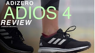 ADIDAS ADIZERO ADIOS 4 REVIEW: The BEST ADIDAS RACING SHOE?