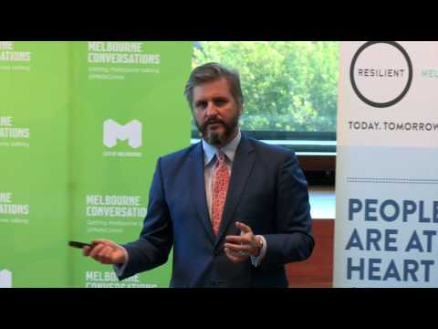 Adapt, survive and thrive: creating liveable and resilient cities - Michael Berkowitz