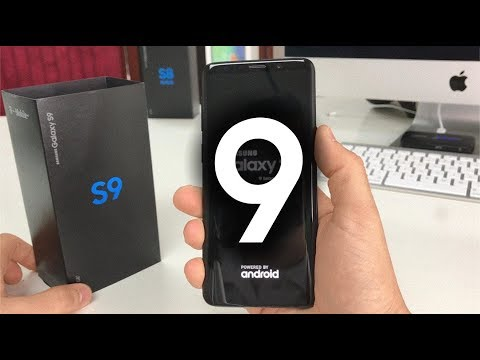 Unboxing and Hands On Review of the Samsung Galaxy S9
