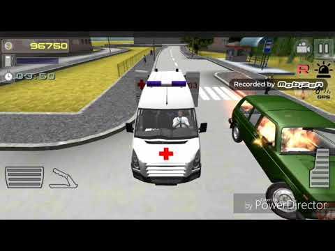 Работаю водителем скорой медицинской помощи. Обзор игры симулятор скорой 3d.