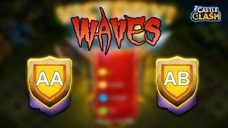 Битва Замків # Хвилі AA , AB