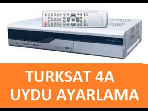Vestel Uydu Türksat 4A Frekans Ayarlamak