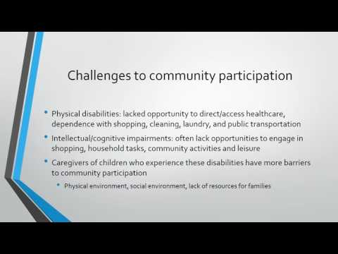 Community Participation mobility