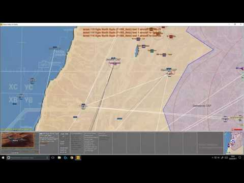 John Tiller Modren Air Power War Over the Mideast Turkeyshoot SCN