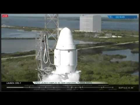 FULL REPLAY! SpaceX Webcast Of Falcon 9 CRS-7 Failed Launch