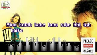 Woh Humse Khafa Nahin Full Karaoke Track for male singers With Lyrics