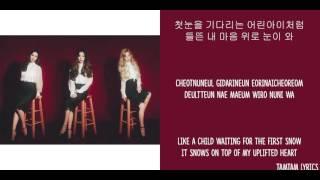Winter Story - TTS Lyrics [Han,Rom,Eng]