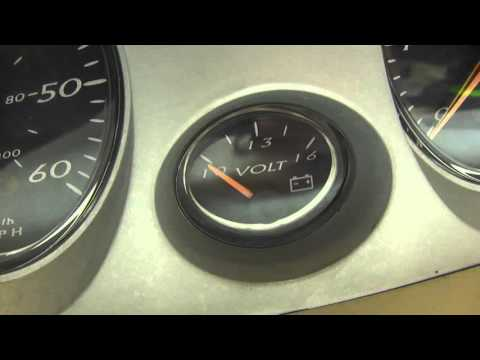 Bayliner 195 Capri Dashboard gauge panel