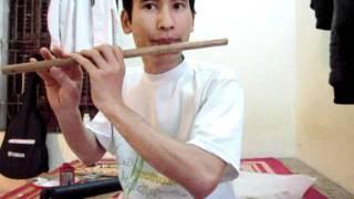 Lý qua cầu - sáo trúc Cao Trí  Minh. Ngày 15.02.2012