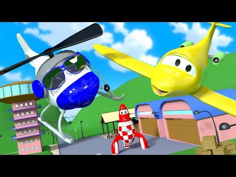 Авто Патруль - Исчезновение Пенни  - Автомобильный Город  🚓 🚒 детский мультфильм