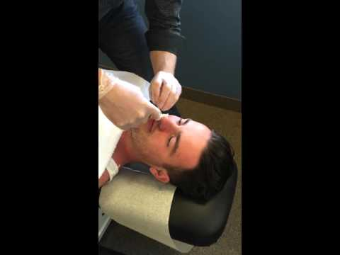 Nasal Specific Treatment | Procedure | Chiropractic Adjustment
