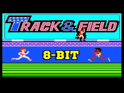 Track & Field (Hyper Olympic) [NES Nintendo Dandy] (1983) Gameplay