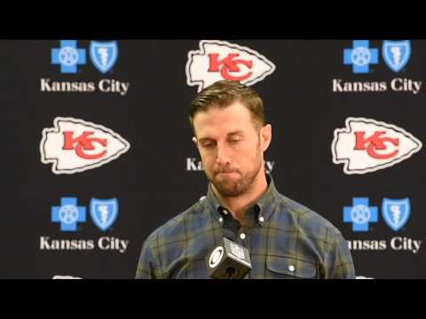 Chiefs Alex Smith after 31-24 loss to Broncos
