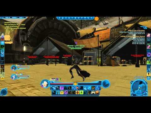 Star Wars The Old Republic - HK-51 parts (Taris)