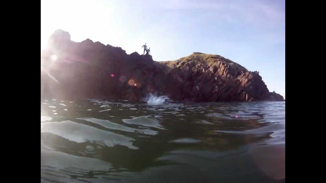 GoPro 2012 Guillamene Cliff Jumping